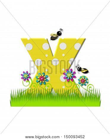Alphabet Buzzing Bee X