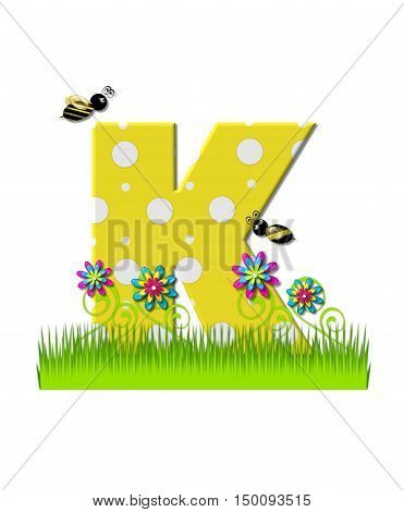 Alphabet Buzzing Bee K