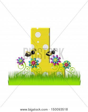 Alphabet Buzzing Bee L