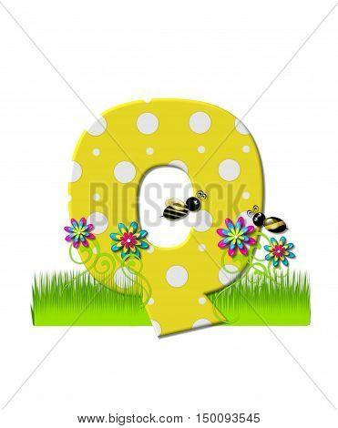 Alphabet Buzzing Bee Q