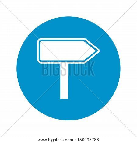 pointer icon on white background for web