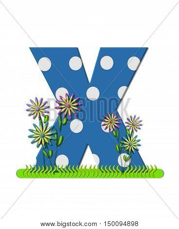 Alphabet Wildflower Meadow X