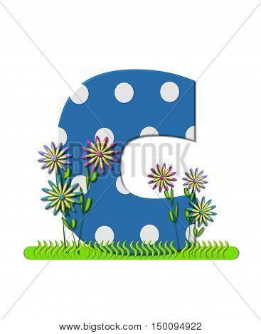 Alphabet Wildflower Meadow C