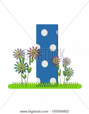 Alphabet Wildflower Meadow I