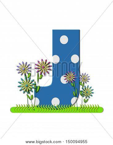 Alphabet Wildflower Meadow J
