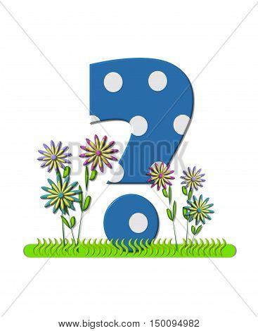 Alphabet Wildflower Meadow Question
