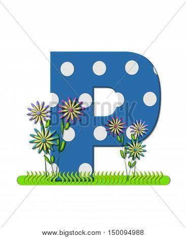 Alphabet Wildflower Meadow P