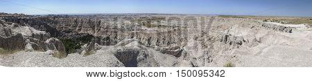 Badlands National Park Panoramic