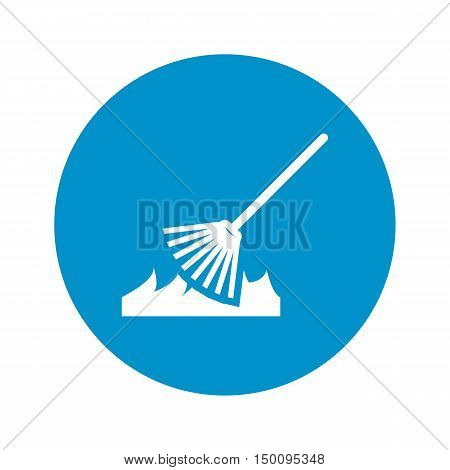 rakes icon on white background for web