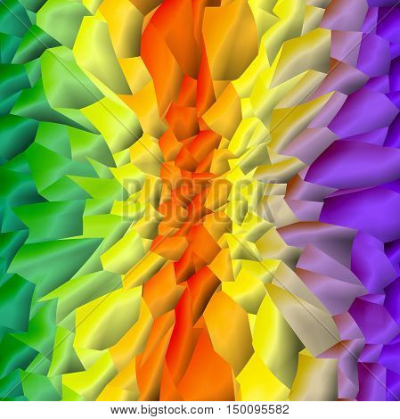 Abstract coloring background of the pastels gradient with visual mosaic,pinch and lighting effects,good for  design