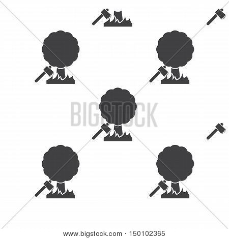 ax icon on white background for web