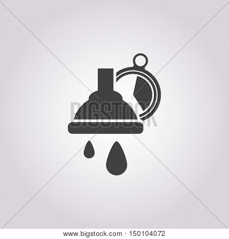 carwash express icon on white background for web