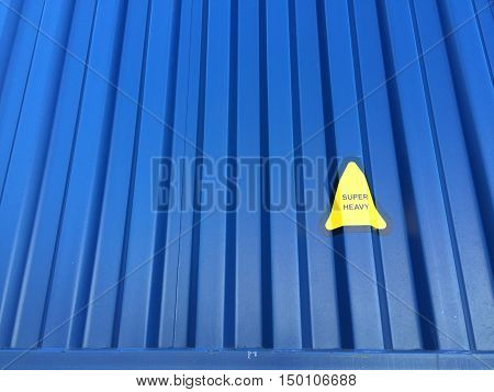 Metal texture of container shipping Background, Container vessel.