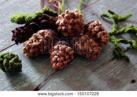 Pinecone, Christmas Ornament For Xmas Holiday