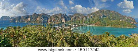 Phi-phi Island, Krabi Province, Thailand.