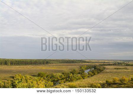 Tula Region, River Oka And The Fields Around