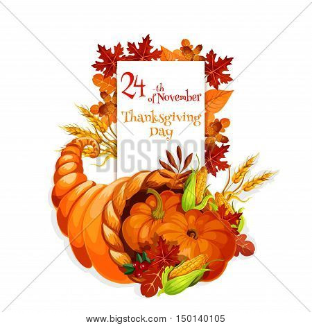 Thanksgiving Day Vector Photo Free Trial Bigstock