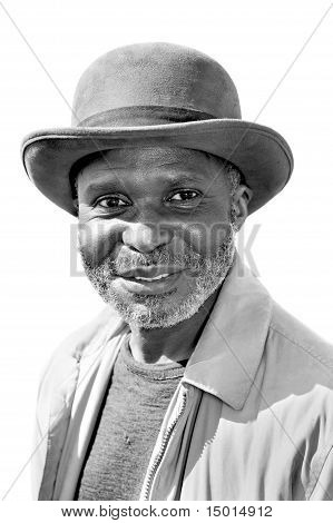 Elderly Black Man