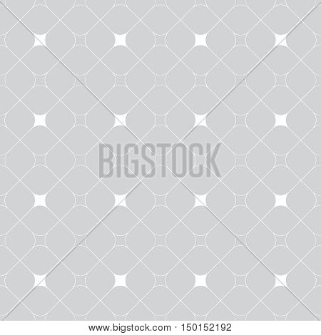 Vector seamless pattern. Abstract textured background. Modern geometrical texture. Regularly repeating stylish tiles with rhombuses diamond. Graphic design element.