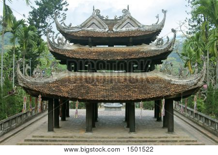 Temple Of The Perfume Pagoda