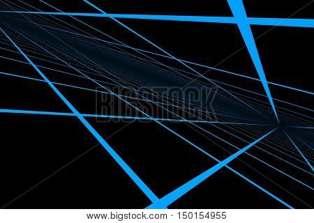3d illustration abstract grid background