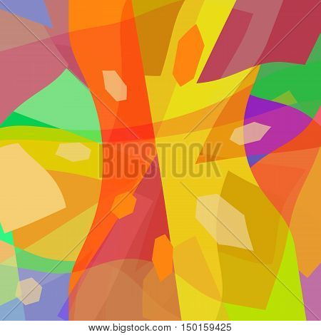 Abstract art background bright colorful modern design