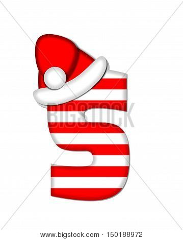 Alphabet Christmas Candy Cane S