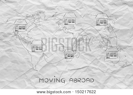 Moving House Across The World, Expat Life