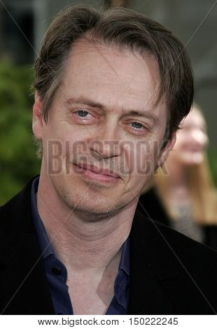 Steve Buscemi at the Los Angeles premiere of 'Charlotte's Web' held at the ArcLight Cinemas in Hollywood, USA on December 10, 2006.