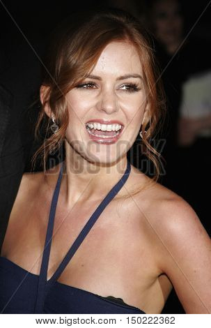 Isla Fisher at the Paramount Pictures' 2007 Golden Globe Award After-Party held at the Beverly Hilton Hotel in Beverly Hills, USA on January 15, 2007.