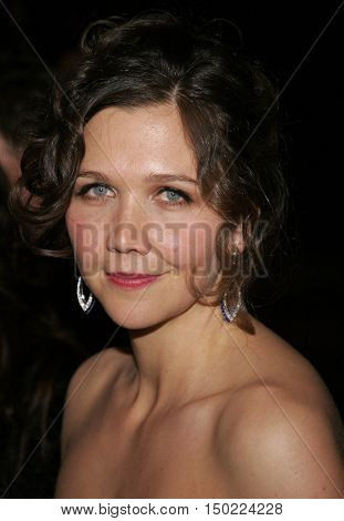Maggie Gyllenhaal at the Paramount Pictures 2007 Golden Globe Award After-Party held at the Beverly Hilton Hotel in Beverly Hills, USA on January 15, 2007.