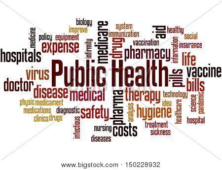 Public Health, Word Cloud Concept 8