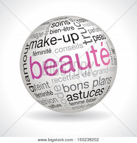 French Beauty Theme Sphere