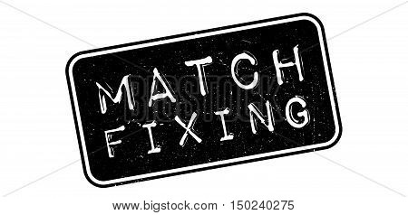 Match Fixing Rubber Stamp