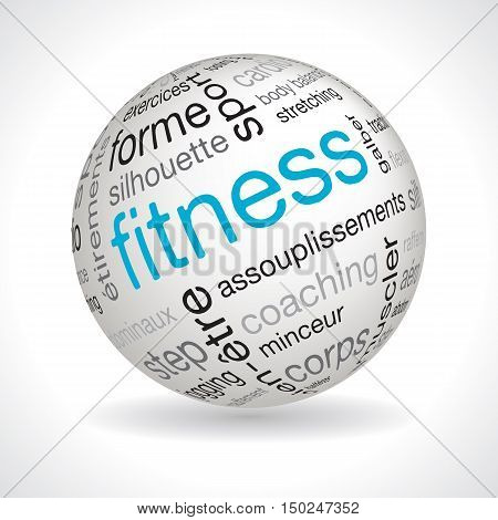 French Fitness Theme Sphere