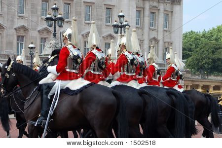 Horse Guard Cavalry Passing