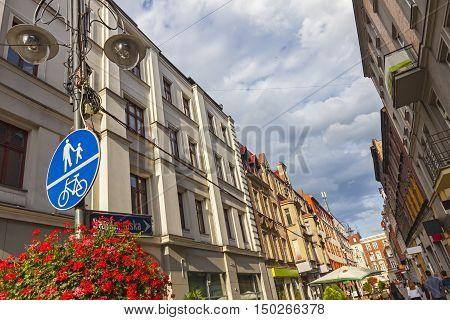 On The Streets Of Katowice, Poland