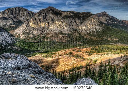 Mount Yamnuska Hiking View