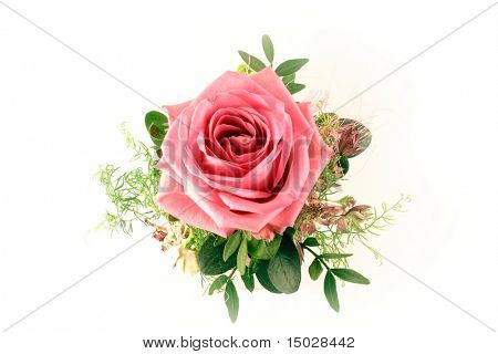 Isolated Rose bouquet