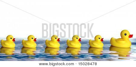 A lot of Rubber Duckies