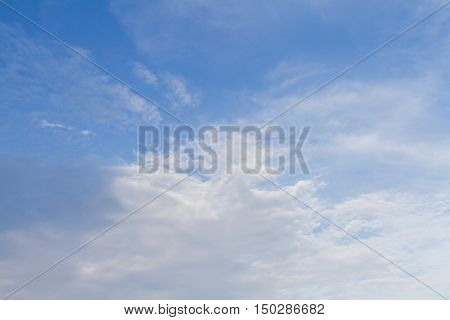 Abstract Clouds Form In The Air Of Natural Phenomena.