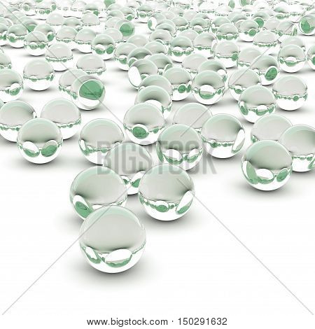 3D Rendering Abstract Sphere