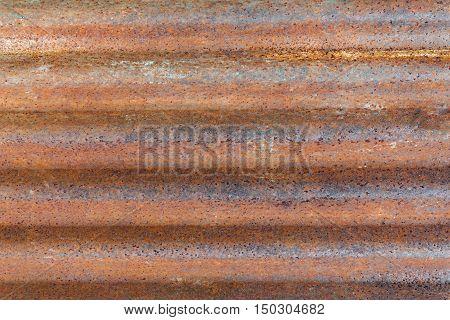 Rusty galvanize texture metal background wide horizontal