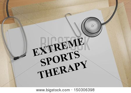 Extreme Sports Therapy Concept