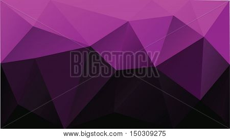 purple background low poly vector for background