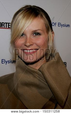 Bonnie Sommerville at the Art of Elysium Presents Russell Young 'fame, shame and the realm of possibility' held at the Minotti in West Hollywood, USA on November 30, 2005.