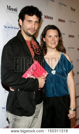 Jeremy Sisto and Jennifer Howell at the Art of Elysium Presents Russell Young 'fame, shame and the realm of possibility' held at the Minotti Los Angeles in West Hollywood, USA on November 30, 2005.