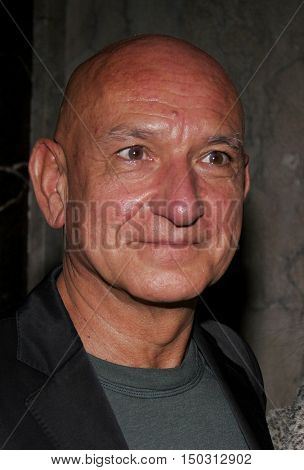 Sir Ben Kingsley at the White Christmas stage musical opening held at the Pantages Theatre in Hollywood, USA on November 28, 2005.