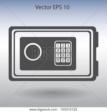 safe for valuables vector illustration