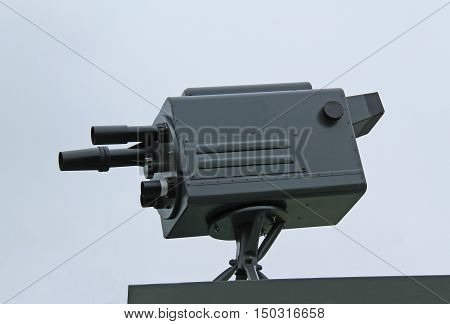 An Old Vintage Outside Broadcast Television Camera.